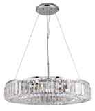 Banderas 8l Crystal Pendant Light: click to enlarge