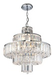 Banderas 10l Crystal Pendant Light