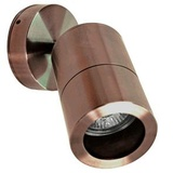 Directional copper round wall light: click to enlarge